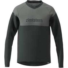 Zimtstern Bulletz LS Shirt Men, zwart/grijs